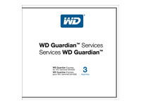 WD Guardian Express WDBMBC0000NNC - contrat de maintenance prolongé - 3 années - expédition