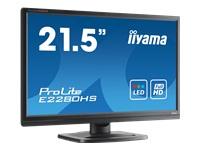 "Iiyama ProLite E2280HS-1 - écran LED - 21.5"""