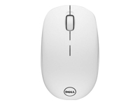 Dell WM126 - Mouse - optical - 3 buttons - wireless - 2.4 GHz - USB wireless receiver - white - for Chromebook 11 31XX, 13 3380; Inspiron 14 3467; Latitude 3480, 3580; Precision 3520