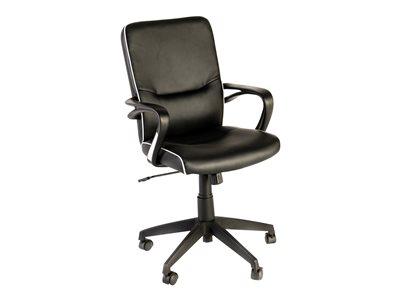 OfficePro LINCOLN - Fauteuil - accoudoirs - noir