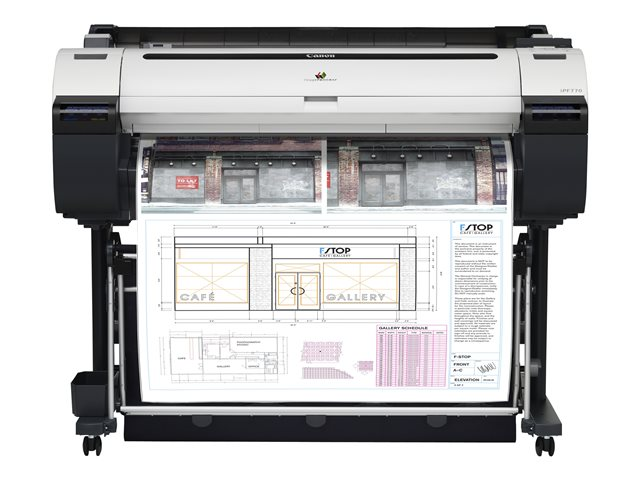 Image of Canon imagePROGRAF iPF770 - large-format printer - colour - ink-jet