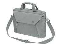 """Dicota Slim Case EDGE Bæretaske til notebook 11.6"""" grå"""