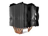 Cooler Master MasterAir MA620P - Disipador para procesador - (para: LGA775, LGA1156, AM2, AM2+, LGA1366, AM3, LGA1155, AM3+, LGA2011, FM1, FM2, LGA1150, FM2+, LGA2011-3, LGA1151, AM4, LGA2066)