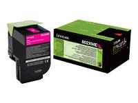 Lexmark Cartouches toner laser 80C2XME