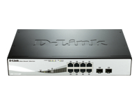 D-Link Web Smart DGS-1210-08P - commutateur - 8 ports - Géré - Ordinateur de bureau, Montable sur rack