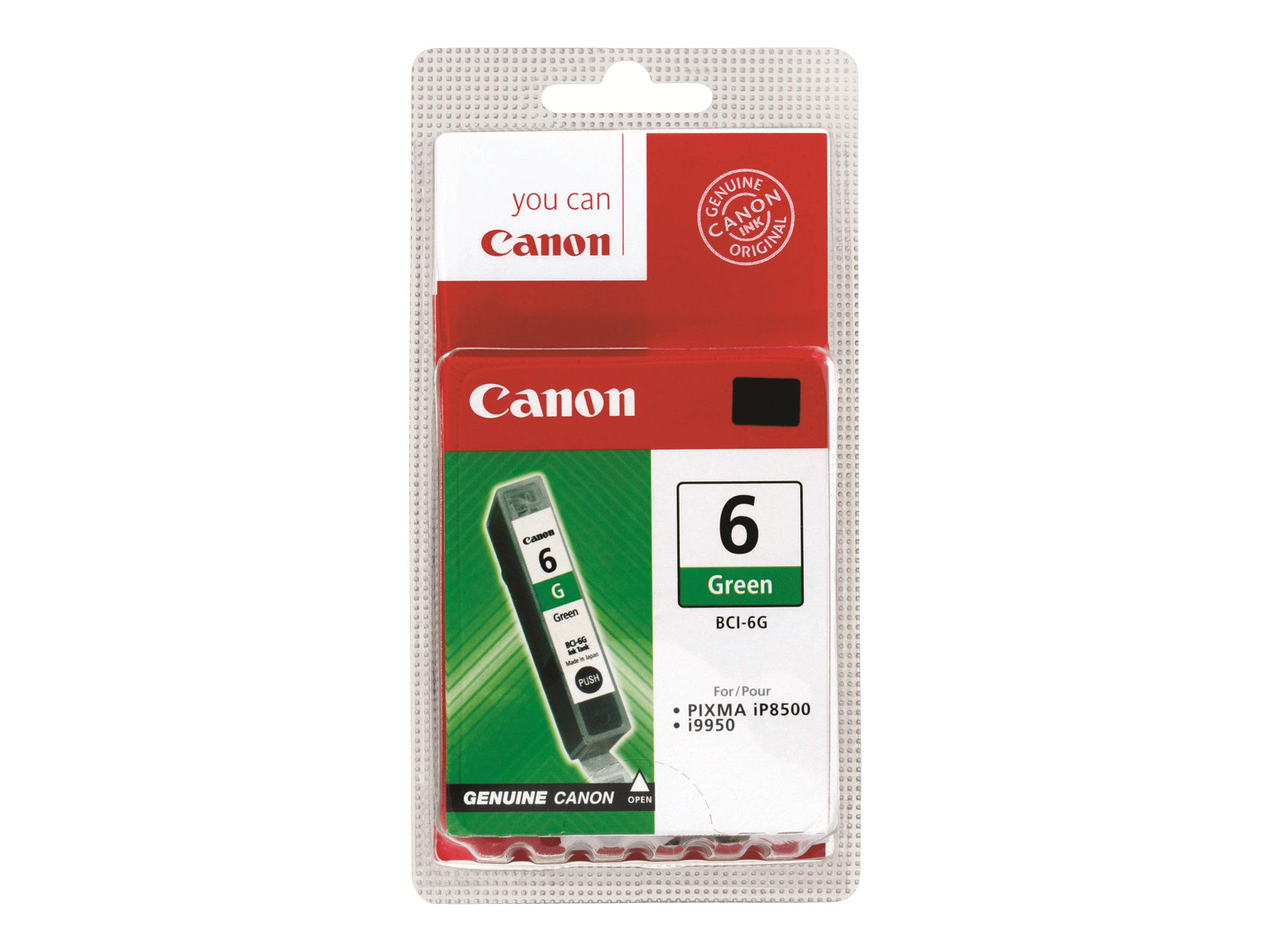 Canon BCI-6G - vert - originale - réservoir d'encre