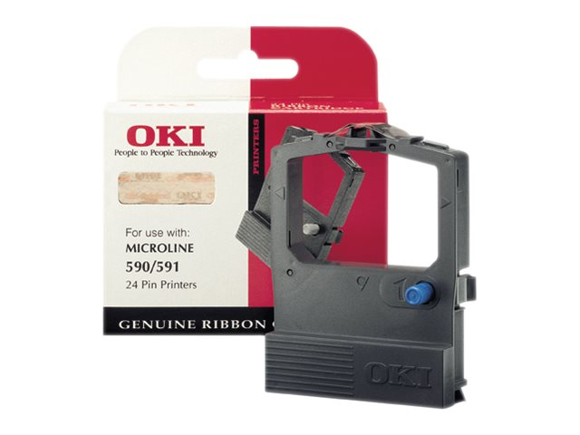 OKI - noir - ruban d'impression - 9002316