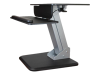 StarTech.com Sit to Stand Workstation with One Touch Height Adjustment - kit de montage