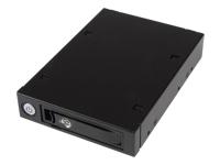 """StarTech.com Backplane pour disque dur SAS/SATA de 2,5"""""""" - Rack mobile HDD / SSD avec échange à chaud - compartiment pour lecteur de support de stockage"""