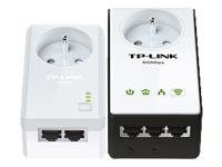 TP-LINK TL-WPA4235PKIT Powerline Extender Kit - pont - 802.11b/g/n - Branchement mural