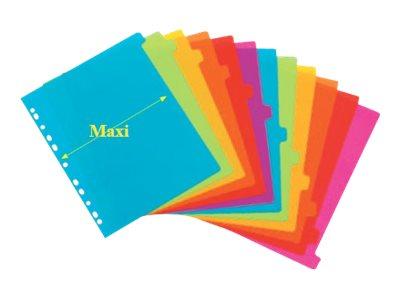 Viquel Happy Fluo Maxi - Intercalaire - 12 positions