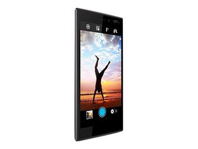 Wiko Ridge 4G - gris, noir - 4G HSPA+ - 16 Go - GSM - smartphone Android