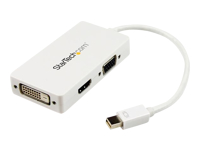 StarTech.com Mini DisplayPort to VGA / DVI / HDMI Adapter