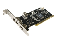 LogiLink PCI Interface 3+1x IEEE1394 FireWire adapter PCI Firewire