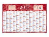 CBG Bleu & rouge 228 - bank calendar