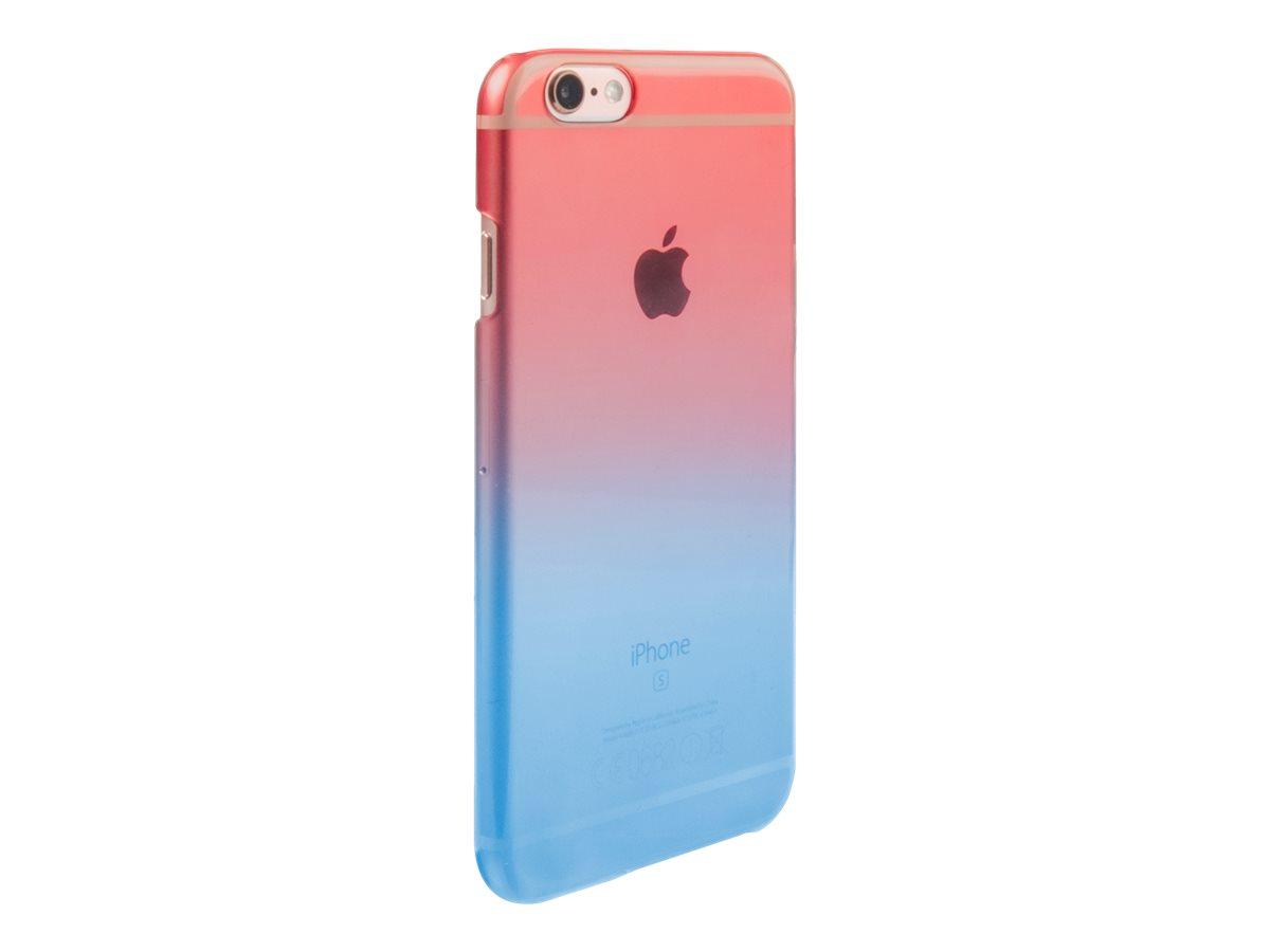 MUVIT LIFE Vegas - Coque de protection pour iPhone 6, 6s - bleu, rose