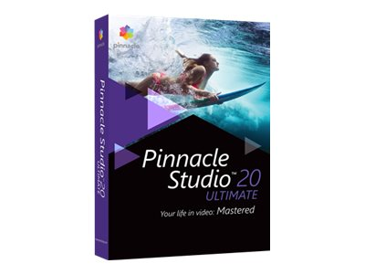 PINNACLE STUDIO ULTIMATE V. 20 CAJA DE EMBALAJE 1