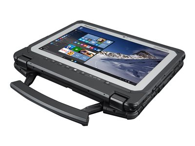 "Panasonic Toughbook 20 - Tablet - with keyboard dock - Core m5 6Y57 / 1.1 GHz - Win 10 Pro - 8 GB RAM - 256 GB SSD - 10.1"" IPS touchscreen 1920 x 1200 - HD Graphics 515 - Wi-Fi, Bluetooth - 4G - rugged - with Toughbook Preferred"