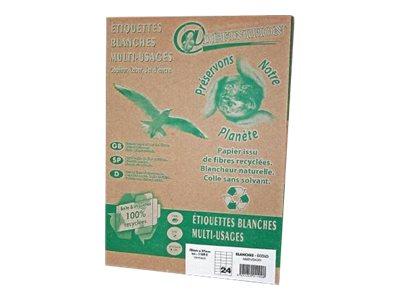 QRT Graphique Définition ETIQUETTES Ecologique - étiquettes adhésives - 400 étiquette(s)