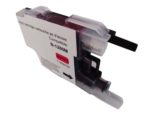 Brother LC1280 compatible Uprint - magenta - cartouche d'encre