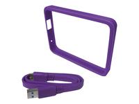 WD Grip Pack WDBZBY0000NPL Beskytter til ekstern harddisk drue