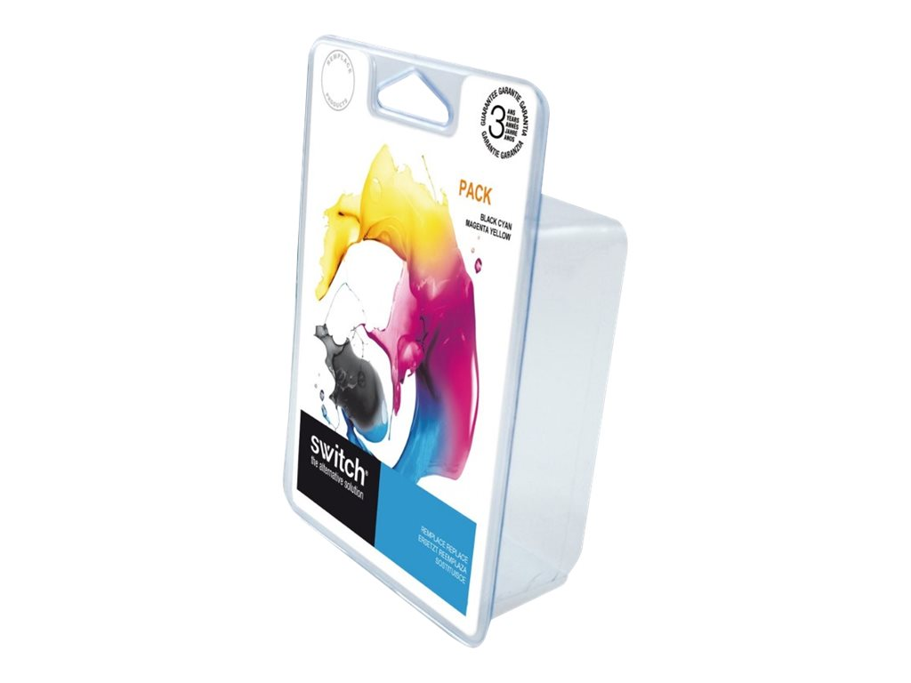 SWITCH - pack de 4 - noir, jaune, cyan, magenta - remanufacturé - cartouche d'encre (alternative for: HP 920XL, HP CD972AE, HP CD973AE, HP CD974AE, HP CD975AE)