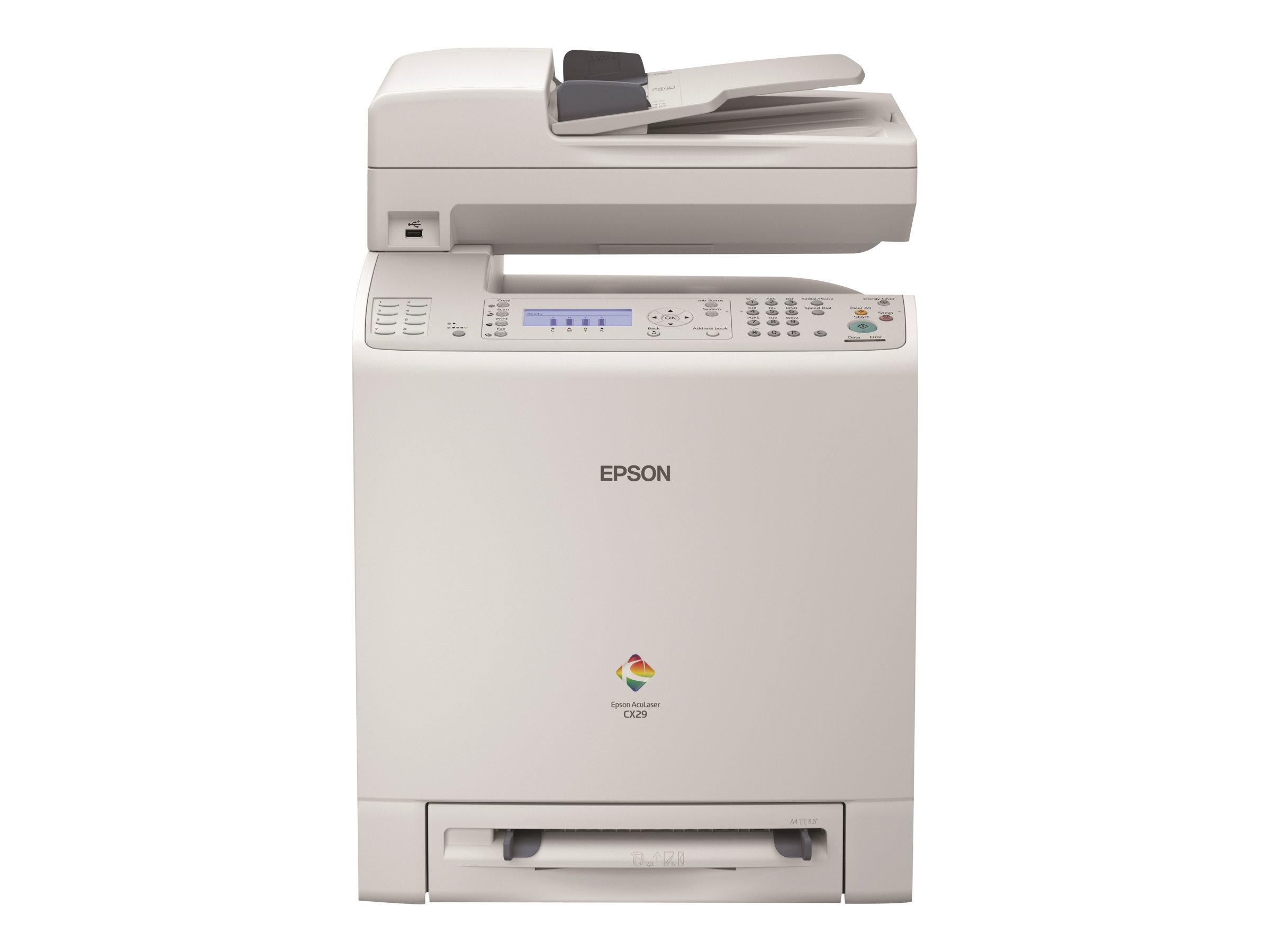 Epson AcuLaser CX29DNF - imprimante multifonctions ( couleur )
