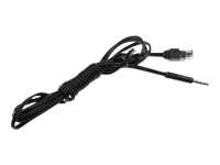 Konftel Mobile Cable - Data cable - 4-pole mini jack (M) - 5 ft - for Apple iPhone 3GS, 4; BlackBerry Bold 9700; HTC 7, Desire HD, Wildfire; Konftel 300, 55