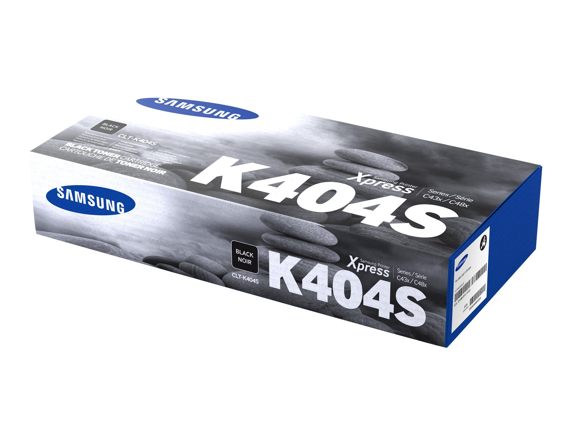 Samsung CLT-K404S - noir - originale - cartouche de toner