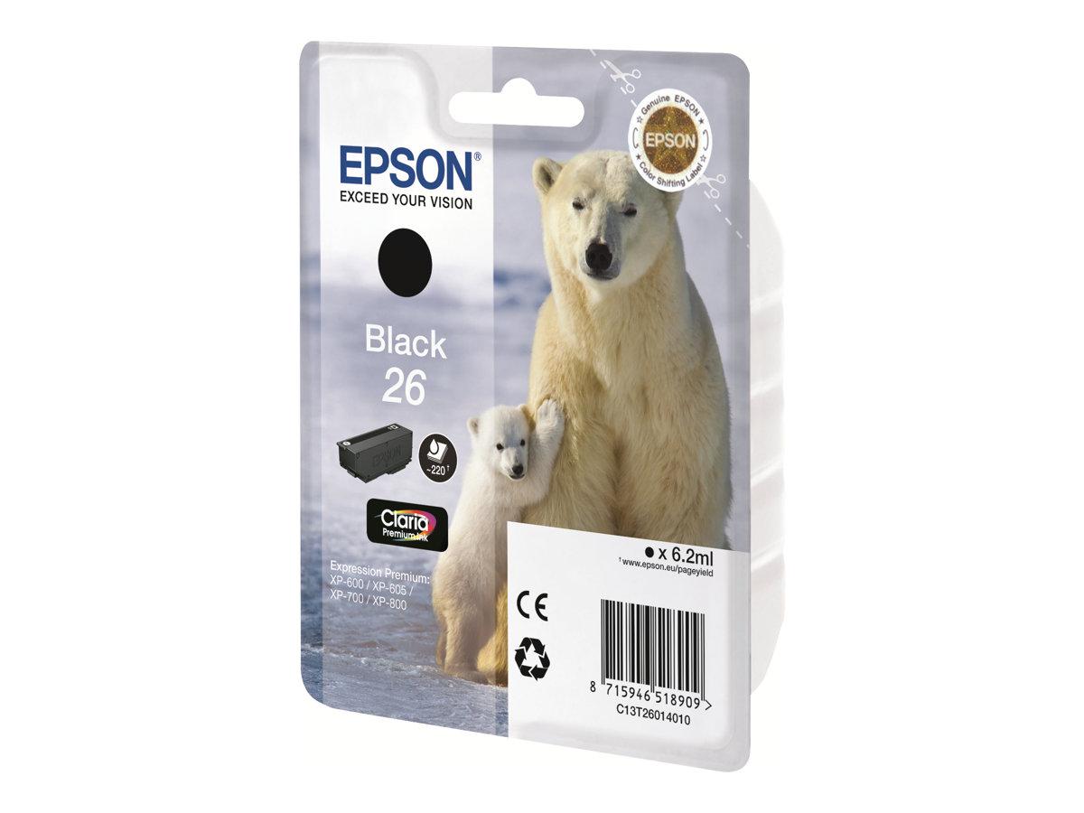 Epson 26 - magenta - originale - cartouche d'encre