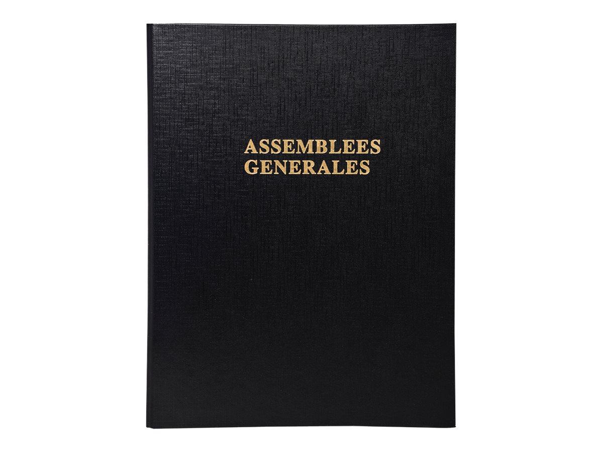 Exacompta - registre des assemblées générales