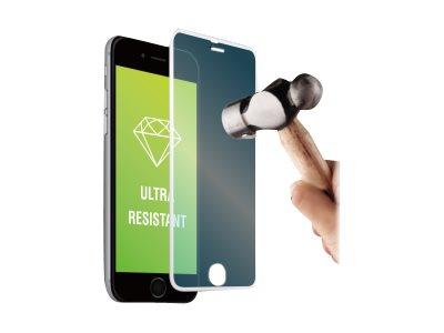 Muvit - 1 film de protection d'écran - verre trempé - argenté - pour iPhone 6 Plus, 6s Plus