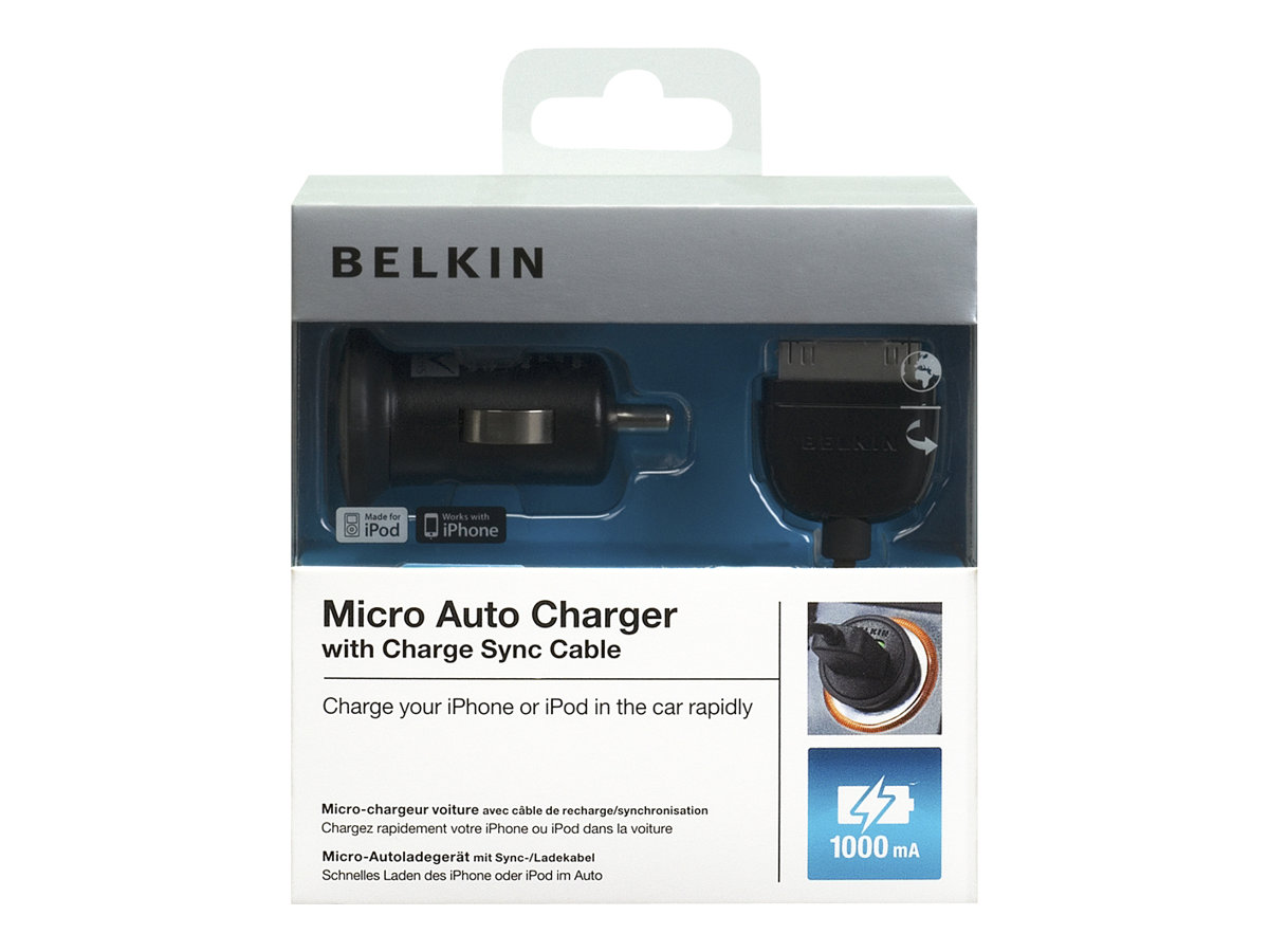BELKIN MINI UNIVERSAL USB CAR CHARGER ADAPTADOR DE