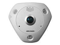 HIK Fisheye IP 3MP 360° IP66 WDR POE Audio/Alarma IR 10m