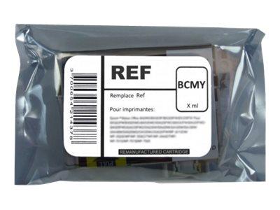 SWITCH - pack de 4 - noir, jaune, cyan, magenta - cartouche d'encre (équivalent à : Brother LC985 )
