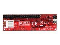 """StarTech.com Adaptateur Convertisseur IDE 40 pin PATA vers SATA pour DD / SSD 2.5 ou 3.5"""" et Graveur Optique 5.25"""" IDE vers SATA"""