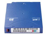 HPE LTO Ultrium 1 100 GB / 200 GB blå