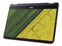 "Acer Spin 7 SP714-51-M24B - Flip design - Core i7 7Y75 / 1.3 GHz - Win 10 Pro 64-bit - 8 GB RAM - 256 GB SSD - 14"" IPS touchscreen 1920 x 1080 (Full HD) - HD Graphics 615 - Wi-Fi, Bluetooth - shale black - kbd: US International"