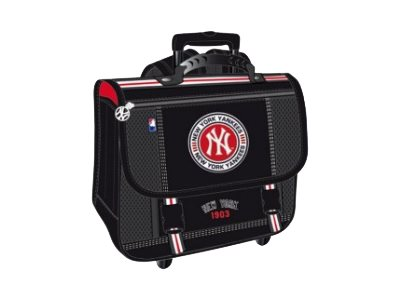 cartable new york yankees 41cm 2 compartiments. Black Bedroom Furniture Sets. Home Design Ideas