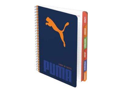 PUMA First - Cahier - A5 + - 17 x 22 cm - 74 feuilles / 148 pages - Seyès