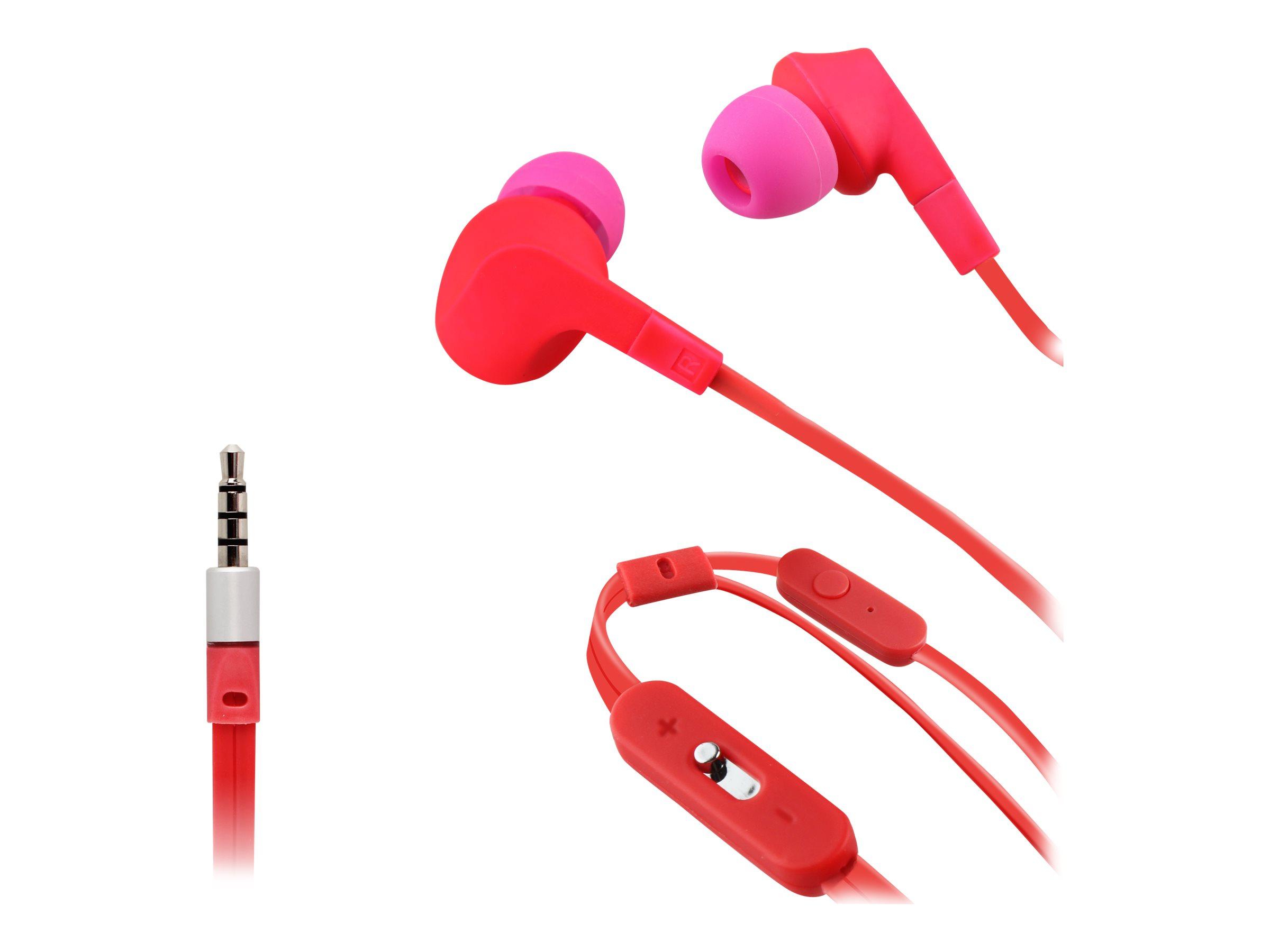 Muvit Music & Call - Écouteurs avec micro - intra-auriculaire - jack 3,5mm - différents coloris