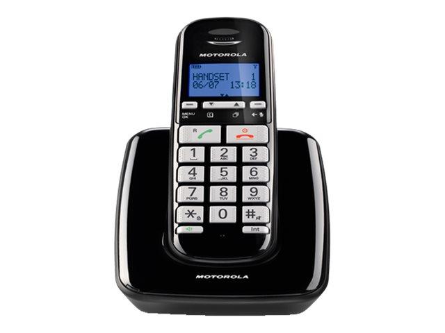 Motorola S3001 - téléphone sans fil avec ID d'appelant/appel en instance