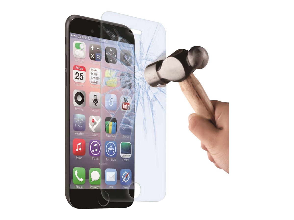 Muvit - 1 film de protection d'écran - verre trempé - antritrace - pour iPhone 6