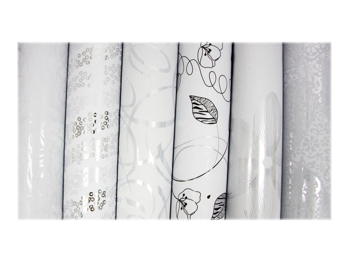Clairefontaine Premium - Papier cadeau - 70 cm x 2 m - 80 g/m2 - blanc