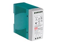 TRENDnet DIN Rail 24V 60W Power Supply for TI-G50, TI-G62, TI-G80, TI-F11SFP