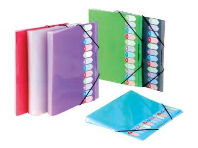 Viquel Propyglass - Trieur - - à soufflets 12 pochettes - disponible dans différentes couleurs