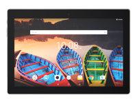 "Lenovo TAB 3 X70F ZA0X - Tablet - Android 6.0 (Marshmallow) - 32 GB eMMC - 10.1"" IPS (1920 x 1200) - USB host - microSD slot - slate black"