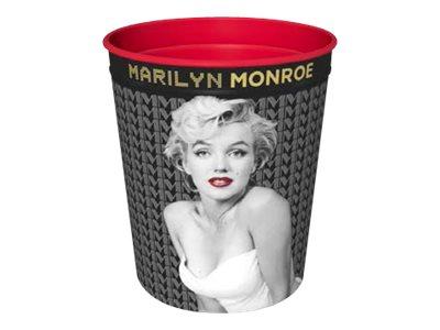 Quo Vadis Marilyn Monroe - corbeille à papier