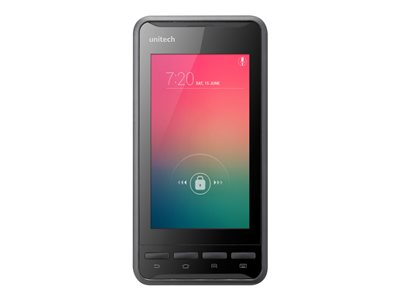 """Unitech PA700V - Data collection terminal - Android 4.3 (Jelly Bean) - 16 GB eMMC - 4.7"""" color IPS (1280 x 720) - rear camera - barcode reader - (2D imager) - USB host - microSD slot - Wi-Fi, Bluetooth - 4G - Verizon"""