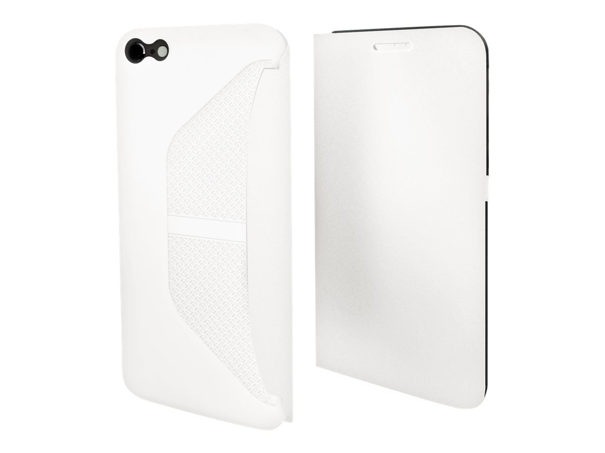 Muvit Easy Folio - Protection à rabat pour iPhone 6 - blanc